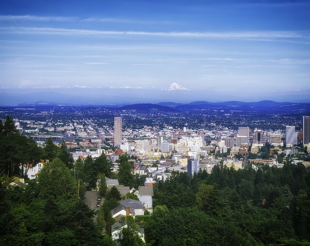 Portland, Oregon is a beautiful city with a large homeless population
