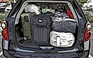 My bags were packed and loaded in the car for an off-grid get away