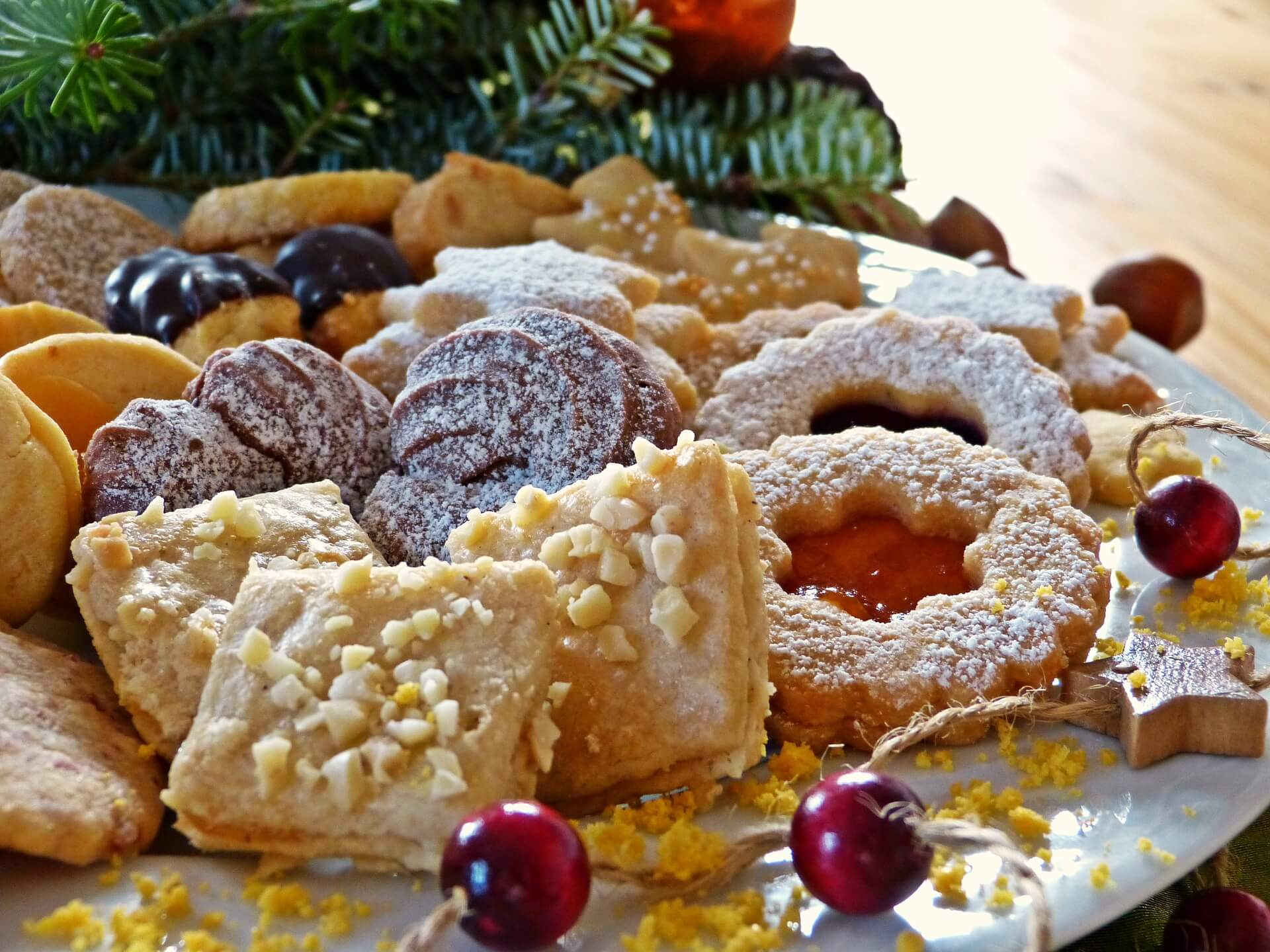 All the goodies at the holidays can challenge any weight loss program
