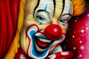 I read some place when you hire a clown, expect a circus..