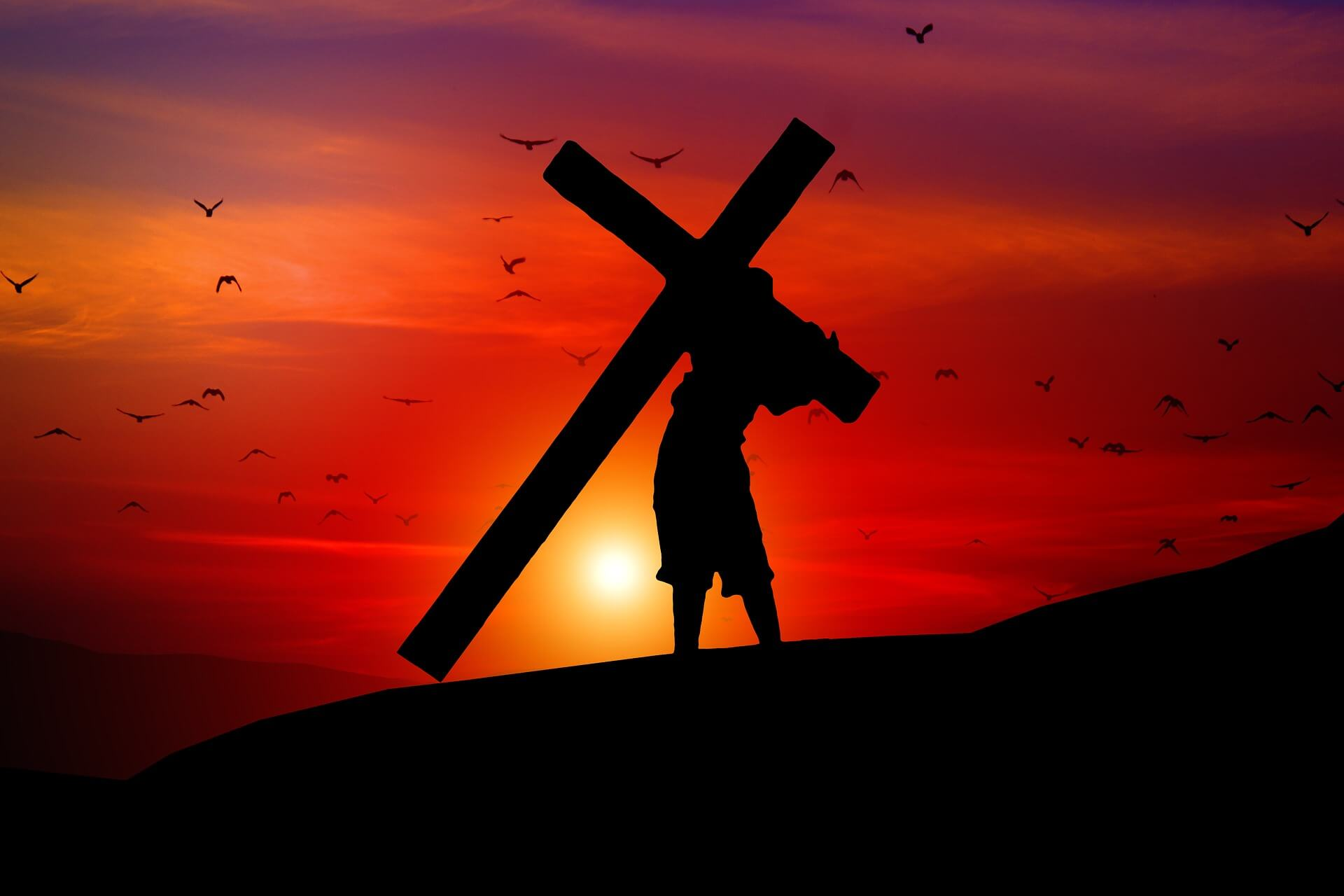 Jesus died on the cross for man's salvation