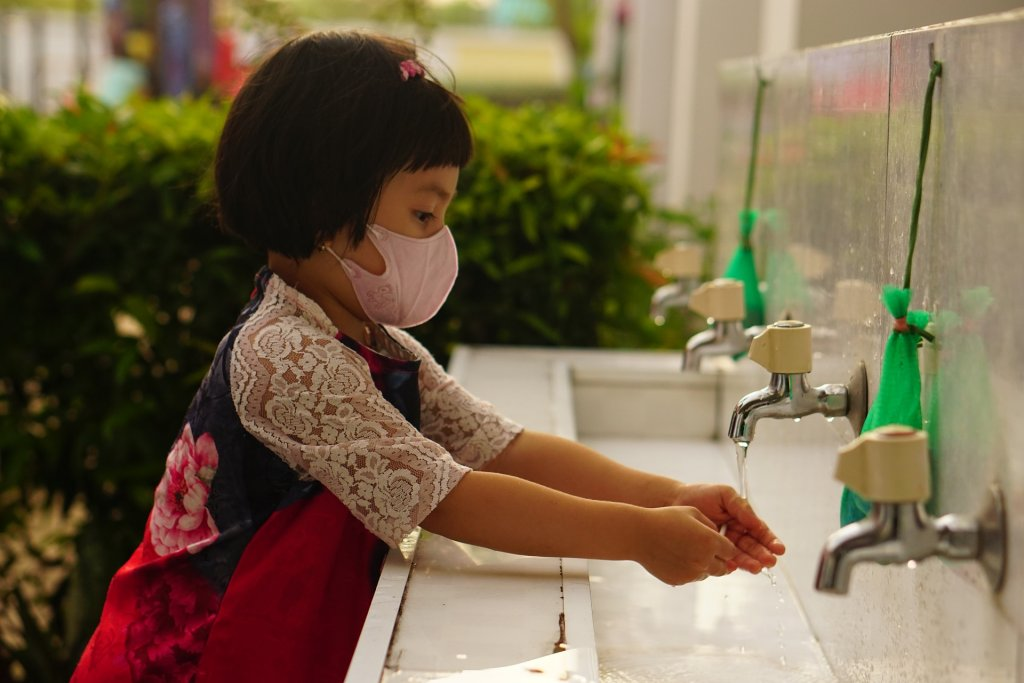 Masks and handwashing are important components in staying healthy during COVID-19